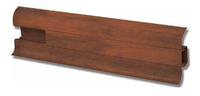 Профиль VIMAR с кабель-каналом матовый 19х55х2500 мм (орех итальянский)