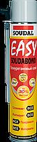 Монтажная пена Soudabond Easy 12м? трубка Soudal, 750 мл