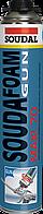 Монтажная пена Soudafoam Gun Maxi 70 L пистолетная Soudal, 850 мл