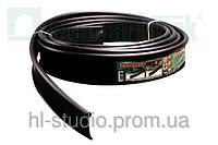 Бордюр Кантри - 1000.2.11 пластиковый черный