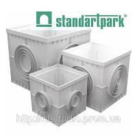 Дождеприемник PolyMax Basic ГП - 30.30 -ПП пластиковый черный