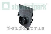Заглушка StandartPark 5х160х175 пластиковая для лотка водоотводного 8000 и 8020 (6830)