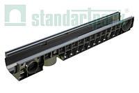Лоток водоотводной StandartPark 1000х160х120 класс нагрузки: A – С пластиковый (8020)