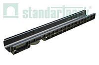Лоток водоотводной StandartPark 1000х145х80 класс нагрузки: A – С пластиковый (8010)