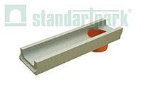 Лоток водоотводной StandartPark 500х140х60 класс нагрузки: A – С бетонный с вертикальным водоотводом (401009)