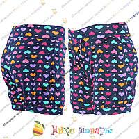 Турецкие шорты с сердечками для девочек от 4 до 8 лет (3488-2)
