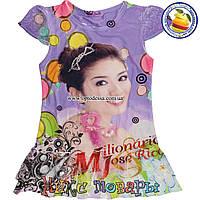 Летнее платье для девочек от 3 до 7 лет пр- во Фабричный Китай (4396-1)