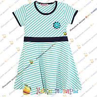 Летнее платье в полоску пр- во Турция для девочек от 4 до 8 лет (3325-2)