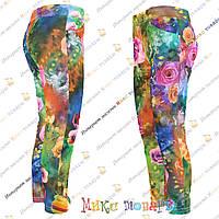 Турецкие лосины брюки для девочек Размеры:104-116-140 см (3382-3)