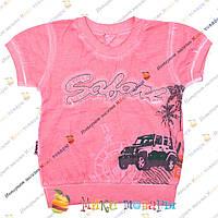 Турецкие футболки для мальчика с напылением от 1 до 4 лет (3383-2)