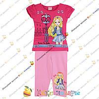 Летний костюм с бриджами для девочки Рост: 92- 110 см (3389-3)