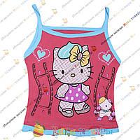 Детские Майки Hello Kitty для девочек от 1 до 5 лет (3407-1)