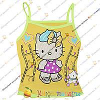 Детские Майки Hello Kitty для девочек от 1 до 5 лет (3407-4)