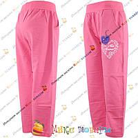 Трикотажные штаны для девочек от 6 до 10 лет (3498-1)