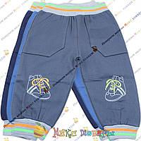 Детские трикотажные штаны с лёгким начёсом для мальчика Размеры: 92 и 98 см (3672)