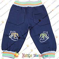 Детские трикотажные штаны с лёгким начёсом для мальчика Размеры: 92 см (3672)