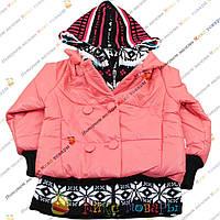 Турецкая куртка для девочек от 4 до 8 лет (3689-2)