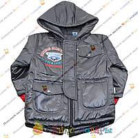Куртки с капюшоном для мальчика Турция от 3 до 7 лет (3693-2)