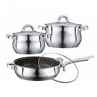Набор посуды Peterhof PH 15789 6 предмета Нержавеющая сталь