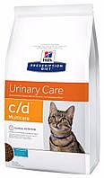 Hill's PD Feline C/D Multicare c океанической рыбой, 1,5 кг