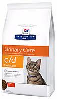 Hill's PD Feline C/D Multicare с курицей, 1,50 кг