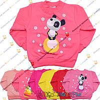 Кофточки с пандой для девочек от 3 до 6 лет (3771)