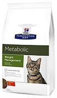 Hill's PD Feline Metabolic, 4 кг