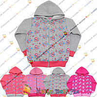 Кофты с капюшоном Начёс Розовый цвет для девочек от 5 до 8 лет (3829-1)