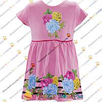Летнее детское платье для девочек от 2 до 6 лет (4121-1)