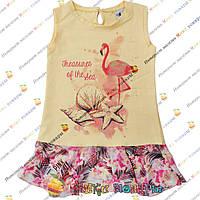 Летнее платье сарафан для девочки от 3 до 6 лет (4160)