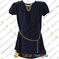 Блузка с коротким рукавом из Шифона для девочек от 8 до 14 лет (4161-9)