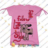 Детские футболки для девочек от 5 до 8 лет пр- во Турция(4199-1)