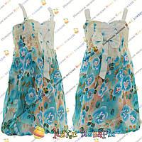 Детское цветное платье от 2 до 6 лет (4225)