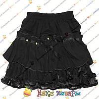 Чёрные Юбки для девочек от 2 до 6 лет (4227)