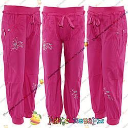 Облегчённые Коттоновые брюки для девочек с 3 до 8 лет (4289-2)