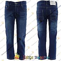 Классические джинсы для мальчика от 4 до 10 лет (4315)