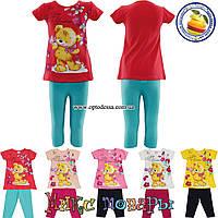Детский летний костюм для девочки от 2 до 5 лет (4357)