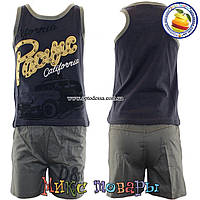 Летний костюм с шортами для мальчика от 3 до 6 лет (4363)