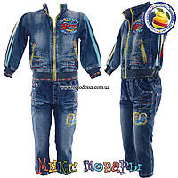 Джинсовый костюм для мальчика 3 до 6 лет Фабричный Китай (4402)