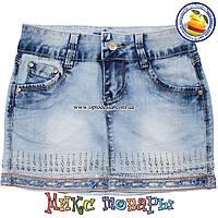 Летние джинсовые юбки для девочек от 6 до 10 лет пр- во Фабричный Китай(4418)