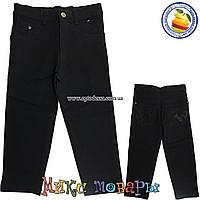 Стрейчевые джинсы с регулятором пояса для мальчика от 5 до 9 лет (4443)