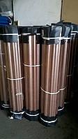 Шифер прозрачный армированный бронза в рулоне , фото 1