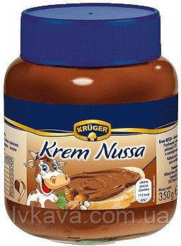 Шоколадный  крем  Krem Nussa KRUGER, 350 гр, фото 2