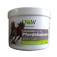 Конская гель Active Gel для суставов с ментолом 500мл Имеет охлаждающий и успокаивающий эффект Pferdebalsam
