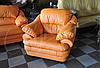 Мягкое кожаное кресло SARA (100 см), фото 3