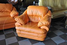 М'яке шкіряне крісло SARA (100 см), фото 3