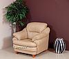 Мягкое кожаное кресло SARA (100 см), фото 4