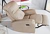 Новое кожаное кресло MAGNAT (85 см), фото 3