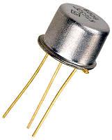 КТ505А транзистор PNP (IК. И. max=2А) (UКЭ0 max=300В) Au (ТО5)