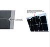 Гнучка сонячна батарея 100 Вт 12 В (32-100), фото 6
